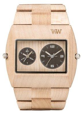 WeWOOD Jupiter Beige horloge