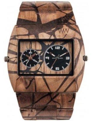 WeWOOD Jupiter Nature Tree Nut horloge