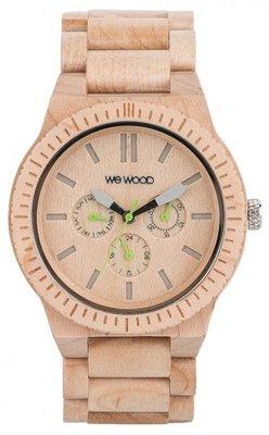 WeWOOD Kappa Beige horloge