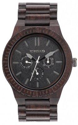 WeWOOD Kappa Black horloge