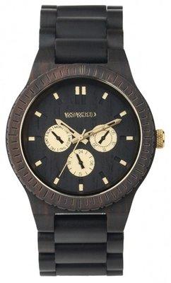 WeWOOD Kappa Black Ro horloge