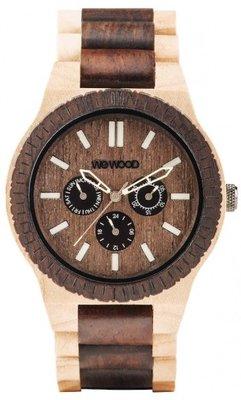 WeWOOD Kappa Choco Crema horloge