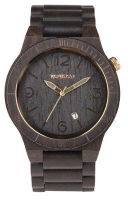 WeWOOD Alpha Black Gold horloge