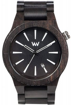 WeWOOD Assunt Black horloge