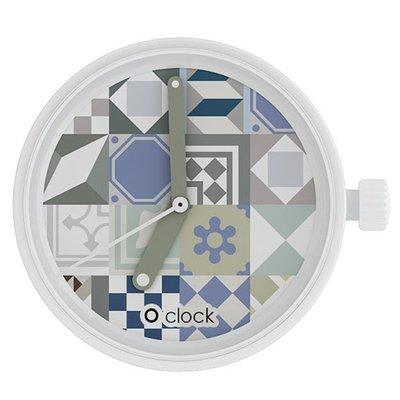 O clock klokje tiles azulejos