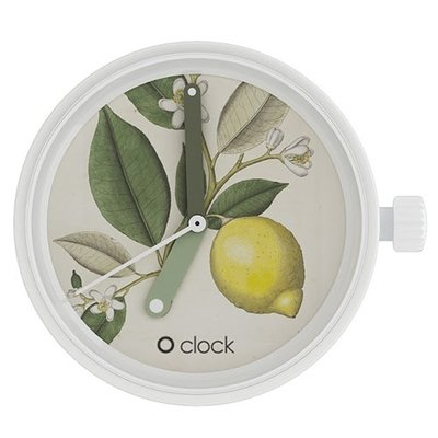 O clock klokje botanical lemon