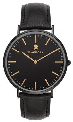Black Oak Rock black 40 mm horloge