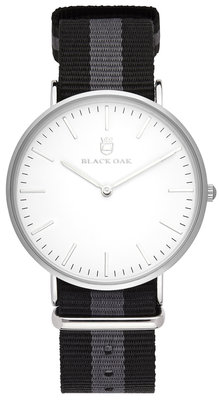 Black Oak Velutino grey 40 mm horloge
