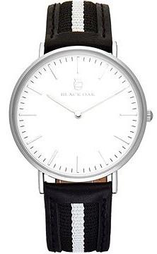 Black Oak Sailor black white 40 mm horloge