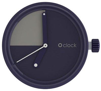 O clock klokje slice navy