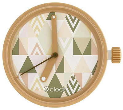 O clock klokje pattern triangle