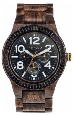 WeWOOD Kardo Choco White horloge