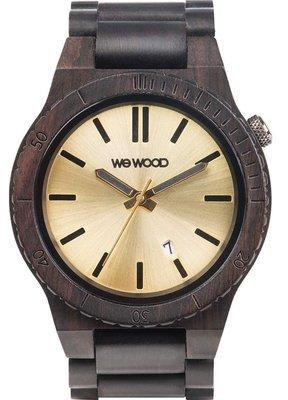 WeWOOD Arrow Black Gold horloge