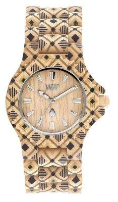 WeWOOD Date Pat Beige horloge