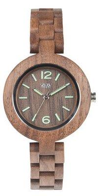 WeWOOD Mimosa Nut horloge