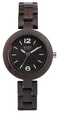 WeWOOD Mimosa Black horloge