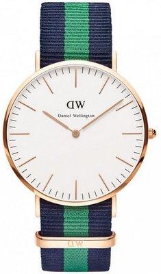 Daniel Wellington Classic Warwick Gold 40 mm horloge
