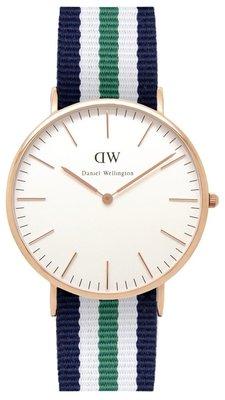 Daniel Wellington Classic Nottingham Gold 40 mm horloge
