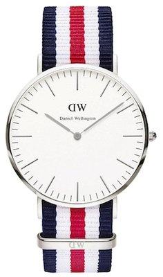 Daniel Wellington Classic Canterbury Silver 40 mm horloge