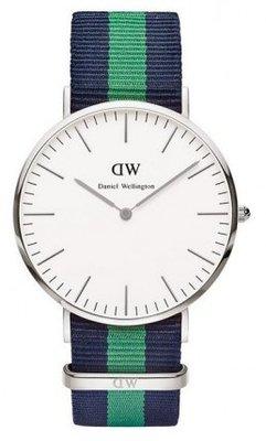 Daniel Wellington Classic Warwick Silver 40 mm horloge