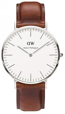 Daniel Wellington Classic St Andrews Silver 40 mm horloge