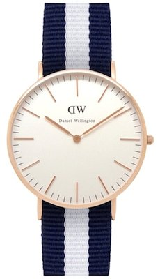 Daniel Wellington Classic Glasgow Gold 36 mm horloge