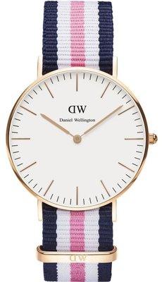 Daniel Wellington Classic Southampton Gold 36 mm horloge