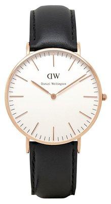 Daniel Wellington Classic Sheffield Gold 36 mm horloge