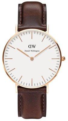 Daniel Wellington Classic Bristol Gold 36 mm horloge