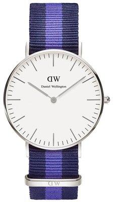 Daniel Wellington Classic Swansea Silver 36 mm horloge