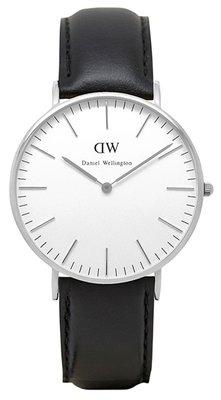 Daniel Wellington Classic Sheffield Silver 36 mm horloge