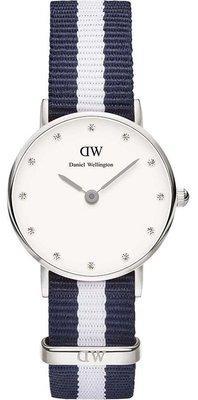 Daniel Wellington Classy Glasgow Silver 26 mm horloge