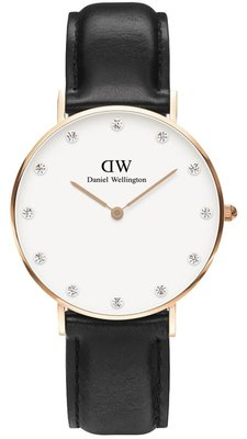 Daniel Wellington Classy Sheffield Gold 34 mm horloge