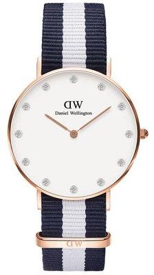 Daniel Wellington Classy Glasgow Gold 34 mm horloge