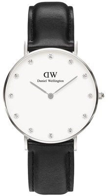 Daniel Wellington Classy Sheffield Silver 34 mm horloge
