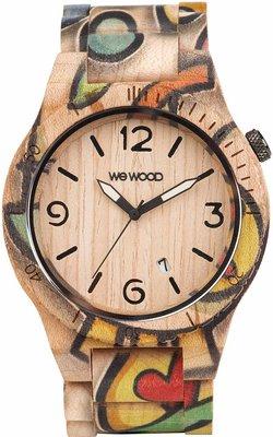 WeWOOD Alpha Woop Eyes Beige horloge