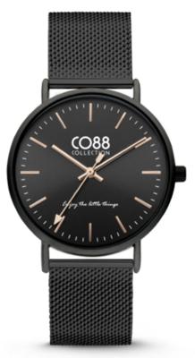 CO88 Steel All black horloge