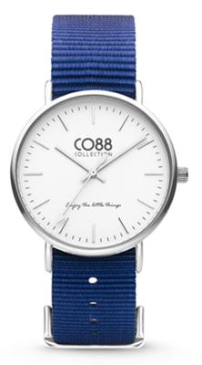 CO88 Nato Blue silver horloge