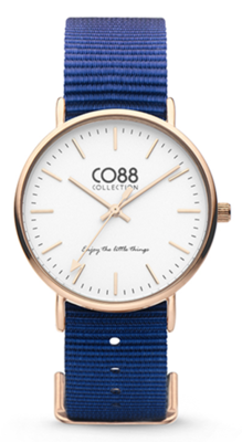 CO88 Nato Blue gold horloge