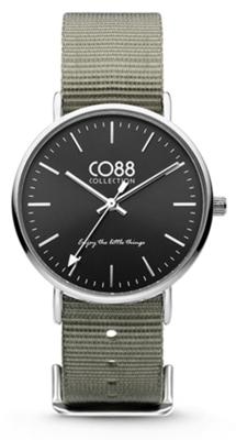 CO88 Nato Grey silver horloge