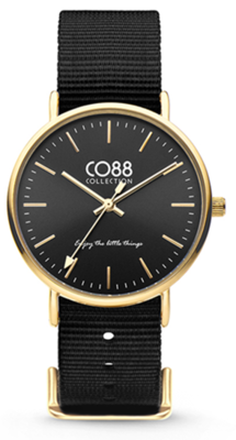 CO88 Nato Black gold horloge