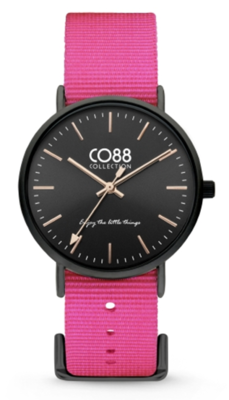 CO88 Nato Pink black horloge