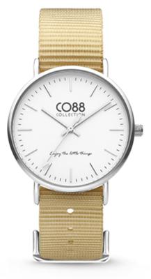 CO88 Nato Sand silver horloge