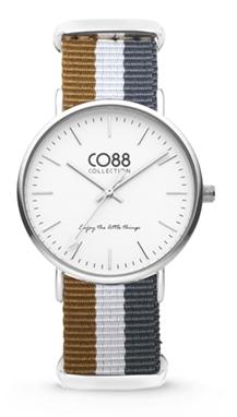 CO88 Nato Sand grey silver horloge