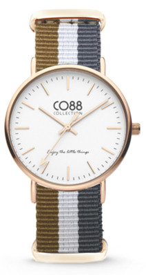 CO88 Nato Sand grey gold horloge