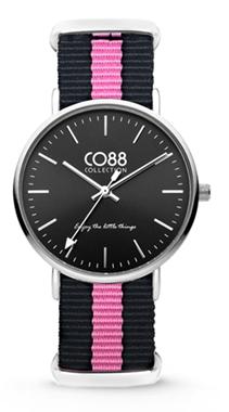 CO88 Nato Black pink horloge