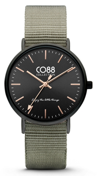 CO88 Nato Black grey horloge