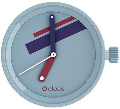 O clock klokje supreme blu avio