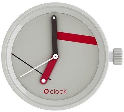 O clock klokje supreme grigio