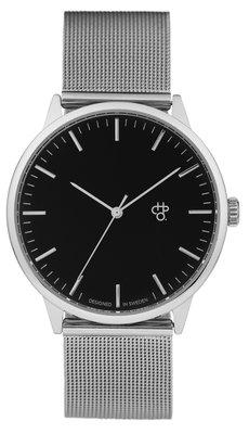 CHPO Nando silver black horloge